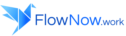 Flow Now Work logo